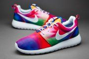 Soldes ccundg dsmaa 2015 Le moins cher Nike Sportswear Roshe One Print Core pourpreItem C0804