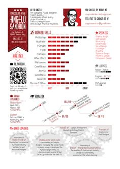 My new infographic resume!!