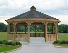 Dodecagon gazebos have twelve sides and are ideal for building enormous gazebos…