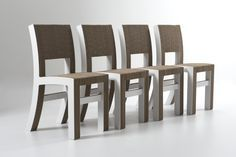 Elettra chair from #Kubedesign collection - #cardboard architectures