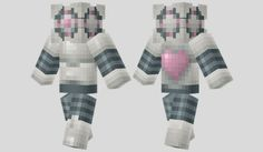 Portal Companion Droid Skin para Minecraft