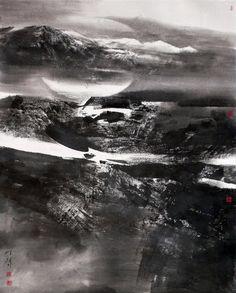 Chen Hui, B-sides, ink wash