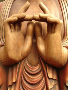 buddha contemplation mudra (lock)