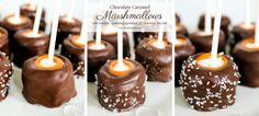 Chocolate Caramel Marshmallows