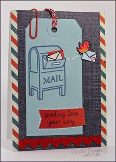 happy mail #DIY #card