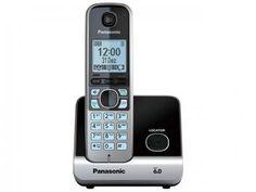 Telefone Sem Fio Panasonic Até 6 Ramais - Identificador de Chamadas KX-TG6711LBB