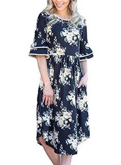 Noblemoon Longsleeve Pink Dress w// Roses Womans Large V-neck Cute Floral Spring