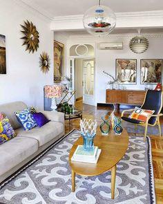 Virlova Style: [Interior] Deco retro años 20 con toques modernos