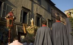 A Procession in Viterbo, Italy