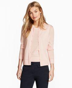 Merino Wool CardiganLight Pink