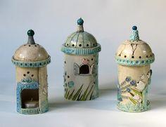 Tikin svet: MOJI IZDELKI / laterne za čajne svečke