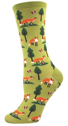 Socksmith Women's Socks Foxes Crew Fern 1pair Socksmith http://www.amazon.com/dp/B00IPR0G72/ref=cm_sw_r_pi_dp_ar1xwb1KT9XQX