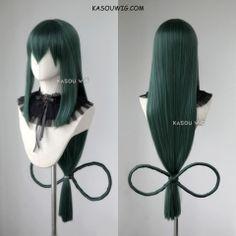 [Kasou Wig] My Hero Academia long Asui Tsuyu green cosplay wig with bow Lolita Cosplay, Cosplay Hair, Kawaii Cosplay, Cosplay Anime, Cosplay Makeup, Cosplay Outfits, Cosplay Wigs, Cosplay Costumes, Kawaii Hairstyles