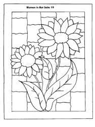 Image result for mosaic design drawings daisy