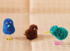 #ICYMI: Last one, I promise - 4 way-too-cute things to make with #pompoms + tips on perfect poms.  Source - Make Pompom Animals kit