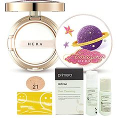 NEW AMOREPACIFIC HERA UV MIST CUSHION COVER 15g   With Refill 15g   Special Gifts! Cell-Bio Simple Set (C21 VANILLA COVER) >>> Want additional info? Click on the image. (This is an affiliate link) #Makeup