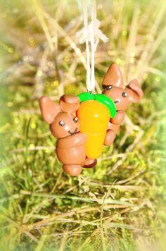 Rabbit at a carrot 6€