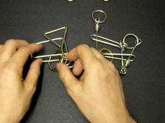 Metal ring puzzle----Fantastic five - YouTube
