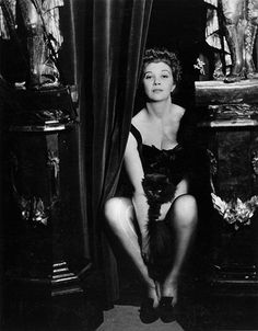 Leonor Fini and her cat photographed by Dora Maar in 1936.