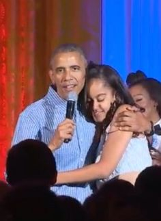 #President Of The United States  #BarackObama During The Closing Of The #Final 4th Of #July 2016 Celebration For #Military #Families At The #WhiteHouse On Stage With #KendrickLamar & #JanelleMonae Sings Happy #18th #Birthday To His #Daughter #MaliaObama As She Came On Stage