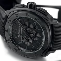 JeanRichard Neroscope - I love the look of all-black watches. Definitely want one some day!