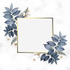 Empty floral frame design vector Free Ve. Framed Wallpaper, Flower Background Wallpaper, Flower Backgrounds, Wallpaper Backgrounds, Iphone Wallpaper, Frame Floral, Flower Frame, Cadre Design, Fond Design