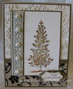 Stamp & Scrap with Frenchie: Vintage Christmas with Lovely as a Tree