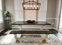 Farmhouse Table, Entryway Bench, Woods, Tables, Furniture, Home Decor, Entry Bench, Mesas, Hall Bench