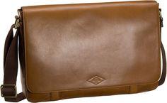 Fossil Aiden Messenger Saddle - Notebooktasche   Tablet