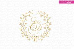 luxury wedding monogram-wedding logo-wedding crest-custom wedding monogram-signo-monograma-monograma de la boda-signo de la boda- by Linvit on Etsy Wedding Logo Design, Wedding Logos, Monogram Wedding, Wedding Stationary, Custom Logo Design, Wedding Designs, Wedding Cards, Diy Wedding, Wedding Invitations