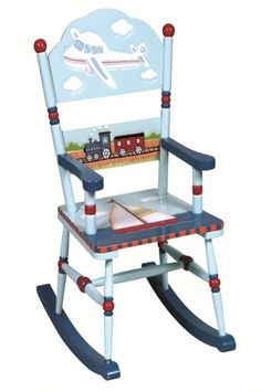 Guidecraft Transportation Rocking Chair