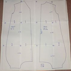 toddler size sleep sack tut with pattern -- no wanting the foot openings, but can adjust pattern