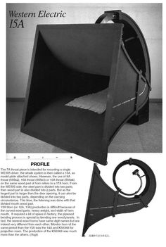 Western Electric 15 a- your opinions (page 40) - Loudspeakers - Lenco Heaven Turntable Forum