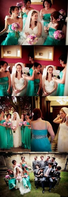 Love the bridesmaids dress color Strapless Dress Formal, Prom Dresses, Formal Dresses, Wedding Dresses, Bridesmaid Dress Colors, Bridesmaids, Something Blue, Happily Ever After, Cute Pictures