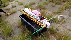 Arduino controlled garden watering system