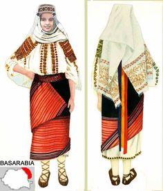 Basarabia, Roumania. Awesome shoes! Modern Fashion, Fashion Art, Womens Fashion, Folk Embroidery, Floral Embroidery, Embroidery Patterns, Folk Costume, Costumes, Point Lace