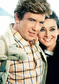 Albert Finney and Audrey Hepburn in Two for the Road (1967)