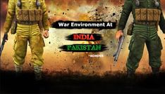 War Enivornment At Indo Pak Border……. Indian Army News, India Pakistan Border, Indian Air Force, High Tension, Air Space, Fighter Jets, War