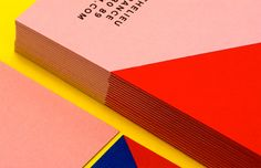 Very colorful stationary printed for L/uniform… Crédits: Cleoburo #print #color #printdesign #atelier #duplexing