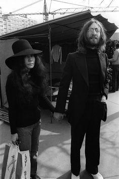 John Lennon & Yoko Ono - Paris
