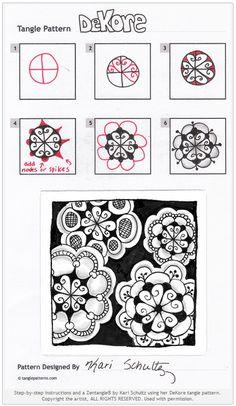 DeKore: Tangle Pattern