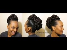 """Transitioning Updo with Beautiful Textures """"TMS"""" Reversion"""
