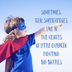 Sometimes real superheroes live in the hearts of little children fighting big battles. Autism. Autism awareness.  www.puzzle-pack.com