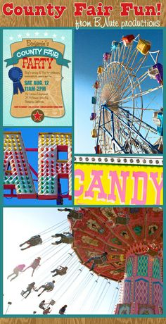 County Fair invitation and more...