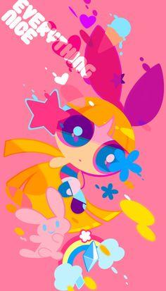 Ppg twitter blosson las super nenas Pétalo