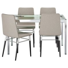 GLIVARP/PREBEN Table et 4 chaises - IKEA