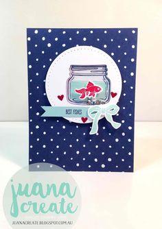 Juan Ambida Independent Stampin' Up!® Demonstrator Australia: Jar of Love - Best Fishes