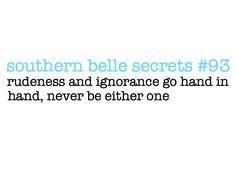 Rudeness and Ignorance(: