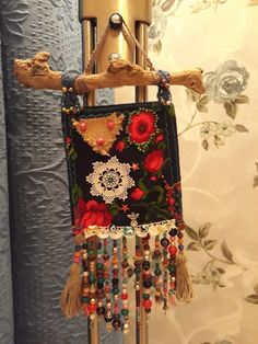 Dreamcatchers, Fabric Art, Art For Kids, Garland, Arts And Crafts, Wall Decor, Textiles, Cute, Sewing Crafts