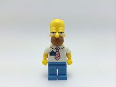 Lego Homer Simpson Front